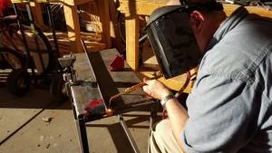 Horizontal-stabilizer-bracket-welding
